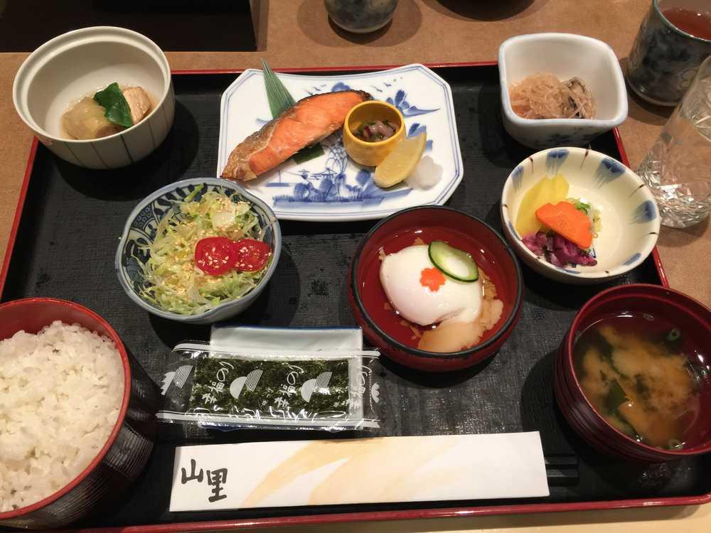 オークラガーデンホテル上海「山里」の朝食画像