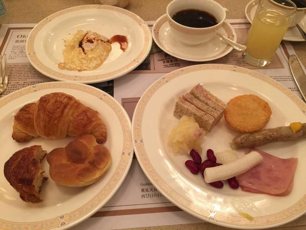 オークラガーデンホテル上海の朝食4日目画像