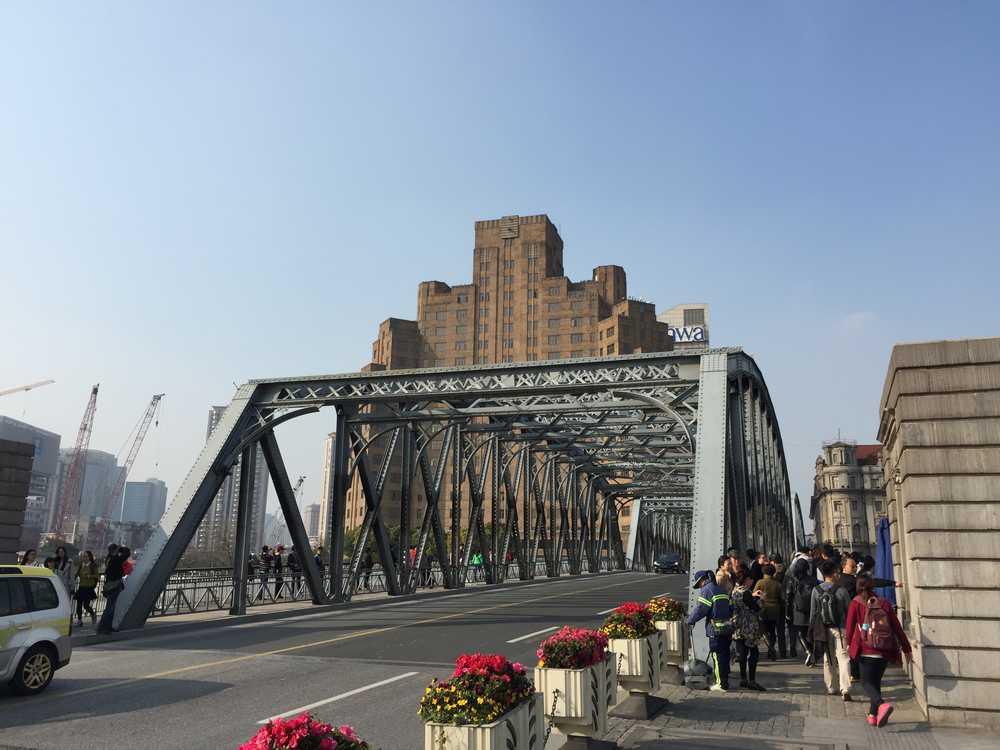 外白渡橋(ガーデンブリッジ)正面画像