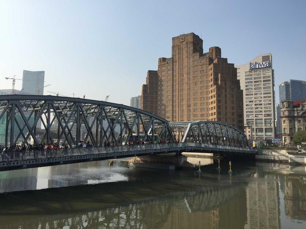 外白渡橋(ガーデンブリッジ)側面画像