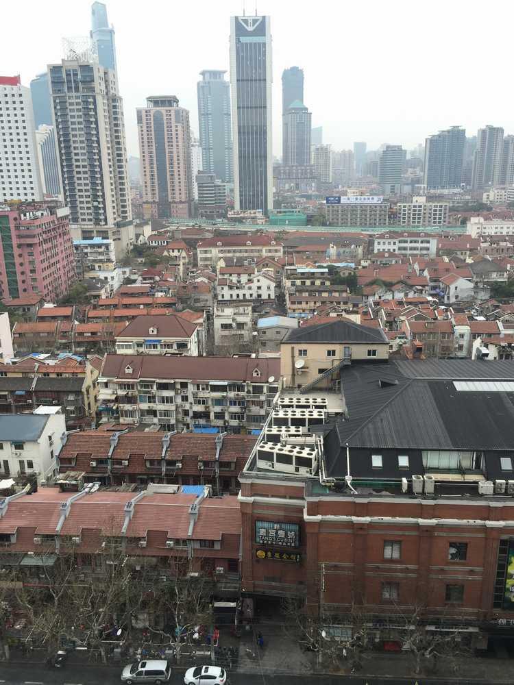 オークラガーデンホテル上海からの眺望画像