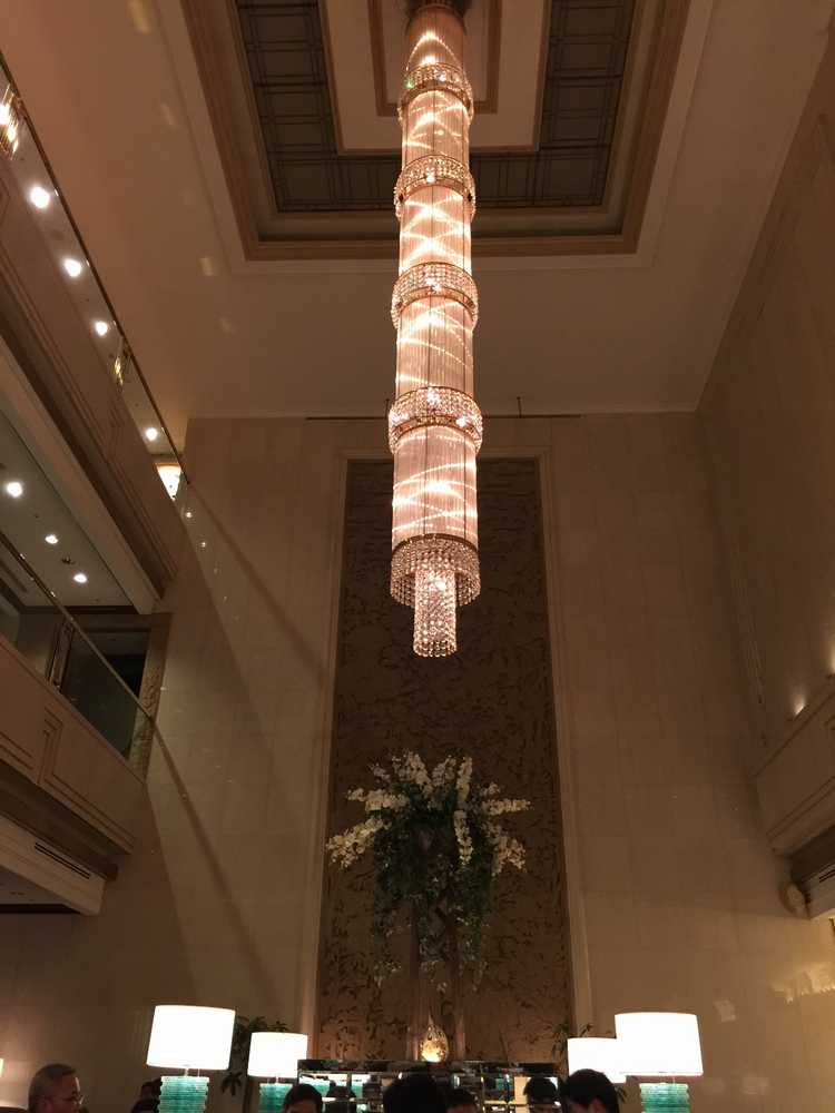 オークラガーデンホテル上海ローズの天井画像