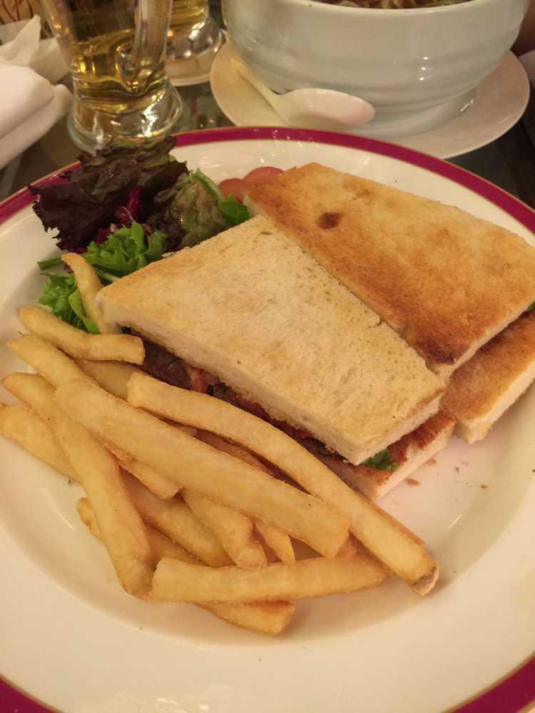 オークラガーデンホテル上海ローズのサンドイッチ画像