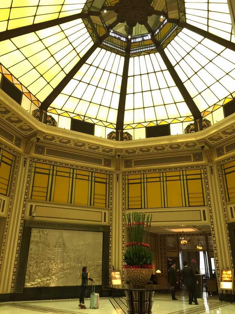 和平飯店北楼ドーム天井画像