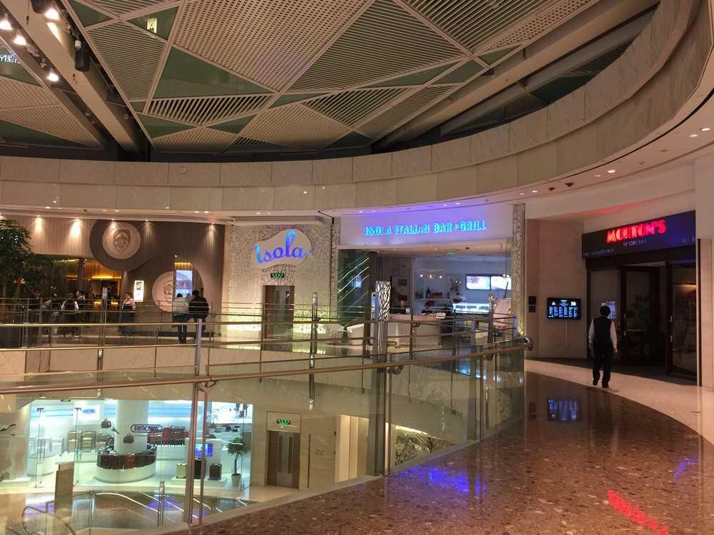 上海IFCモールのレストランフロア画像