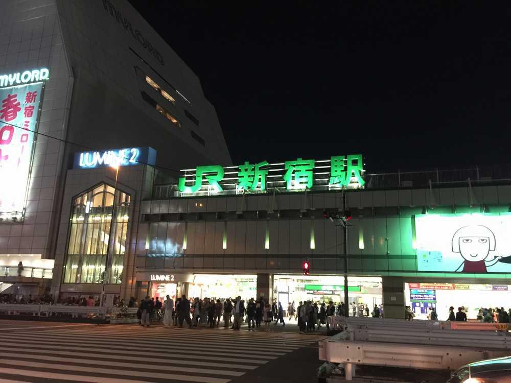新宿駅画像